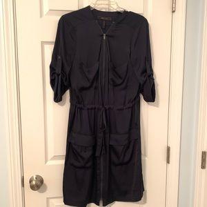 Navy BCBG dress